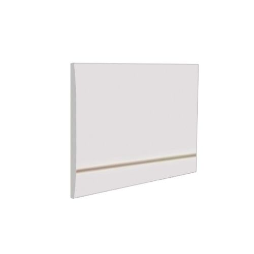 Ice 800mm White Gloss 2 Piece Bath End Panel